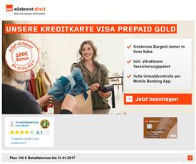 w stenrot visa gold prepaid erfahrungen test 2016. Black Bedroom Furniture Sets. Home Design Ideas